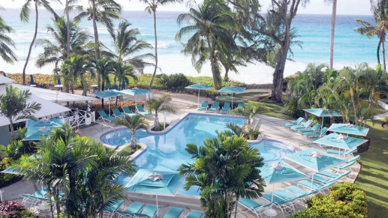 Main pool at the Turtle Beach by Elegants hotels