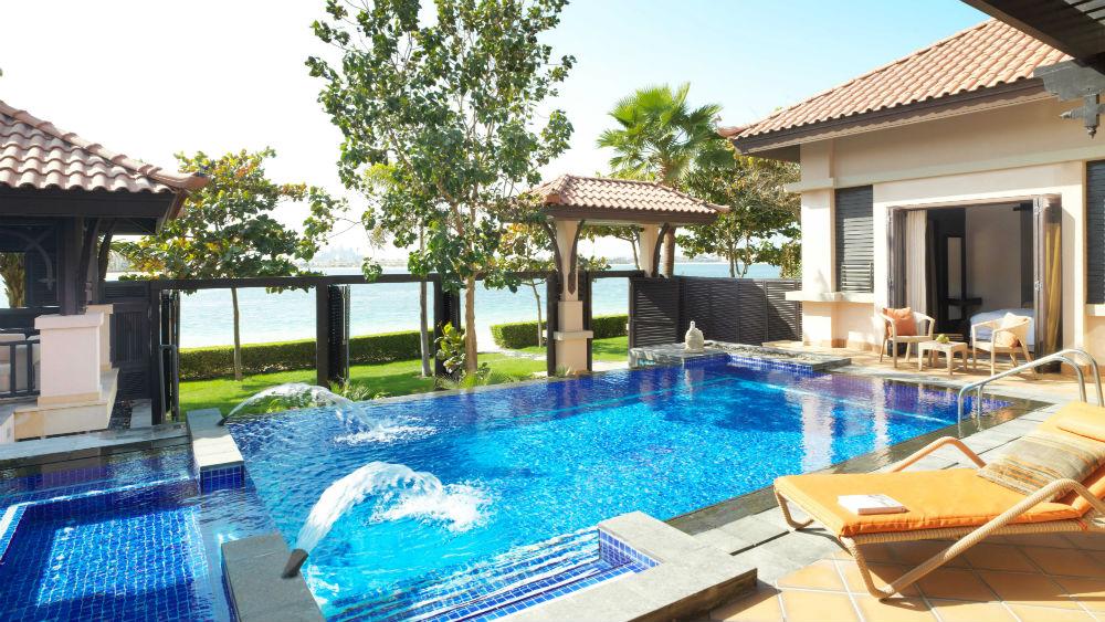 Two Bedroom Beach Pool Villa at the Anantara The Palm Dubai