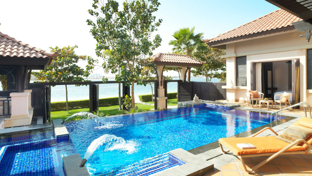 Two Bedroom Beach Pool Villa at the Anantara The Palm Dubai