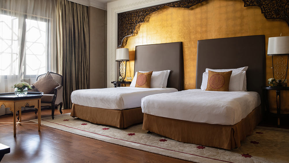 Bedroom of the Two Bedroom Suite at Jumeirah Zabeel Saray