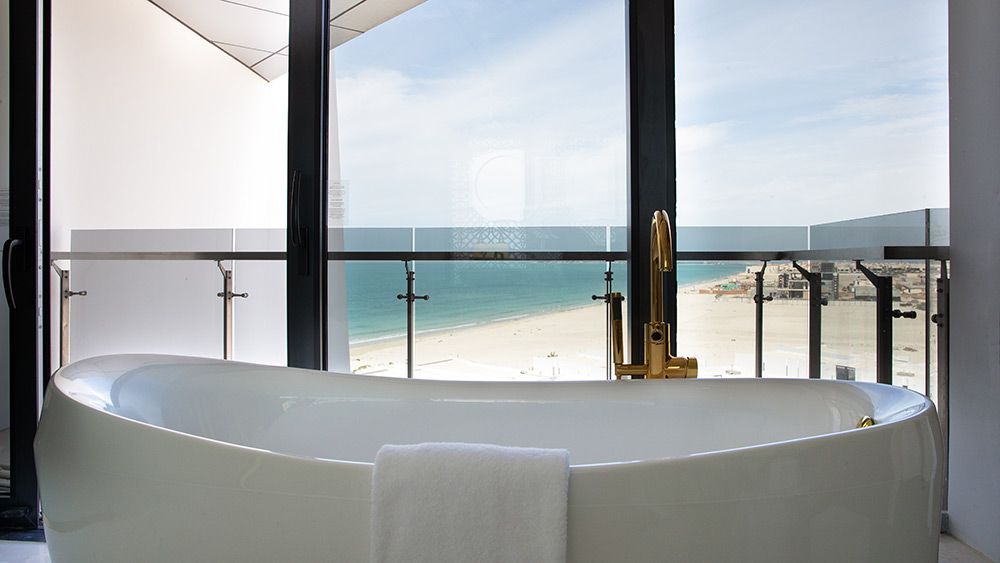 Bathroom of the Abu Dhabi Two Bedroom Suite at Jumeirah at Saadiyat Island