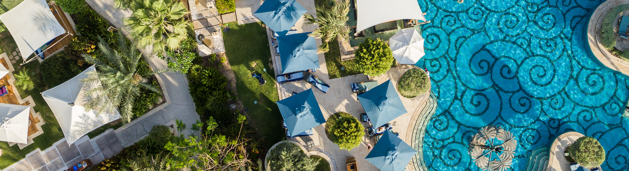 Adults Pool at the Jumeirah Al Naseem