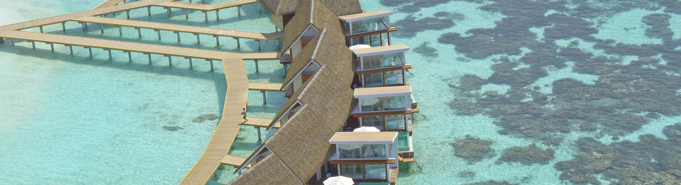 water bungalows in Kandolhu Maldives