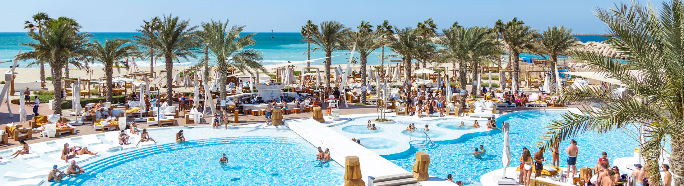 Beach Club at the Nikki Beach Resort & Spa Dubai