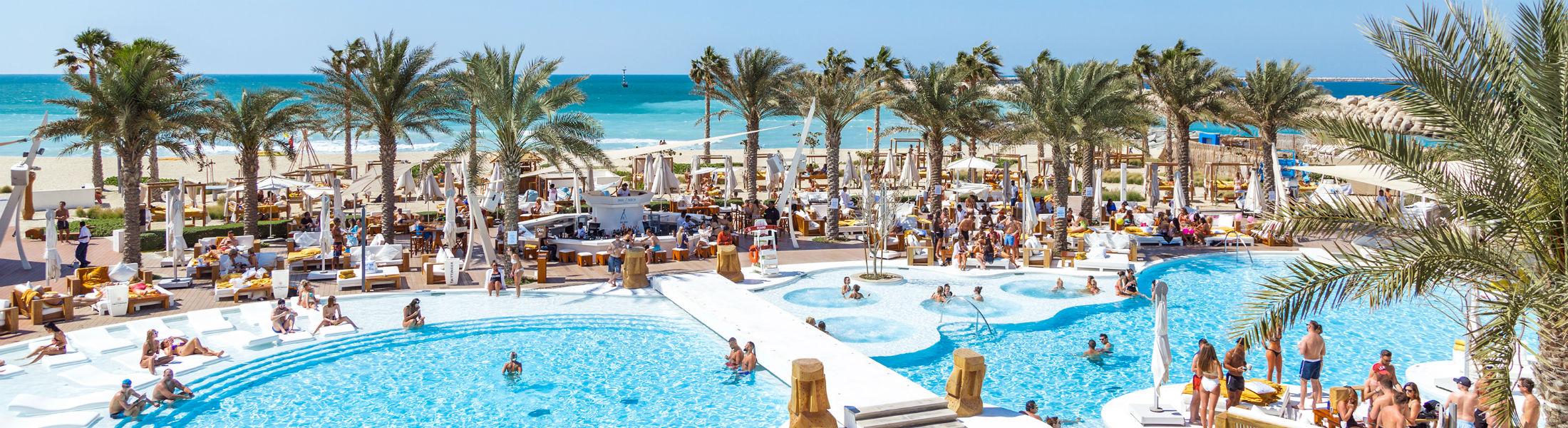 Beach Club at the Nikki Beach Resort & Spa Dubai