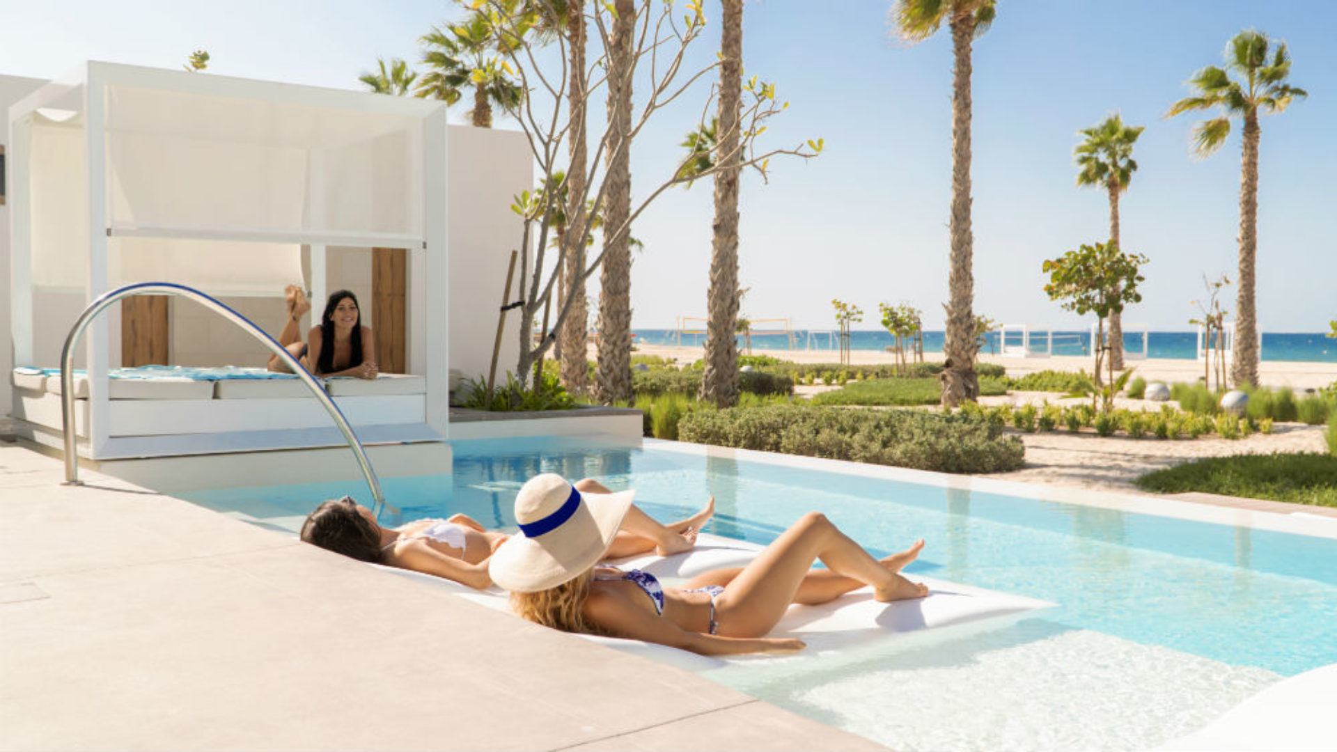 Beach Villa at the Nikki Beach Resort & Spa Dubai