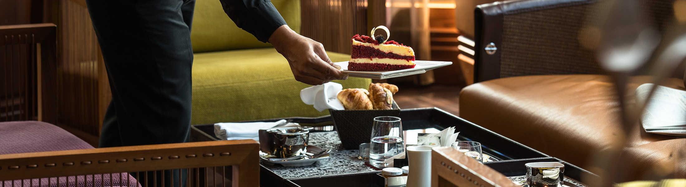 Afternoon tea at Jumeirah Creekside Hotel