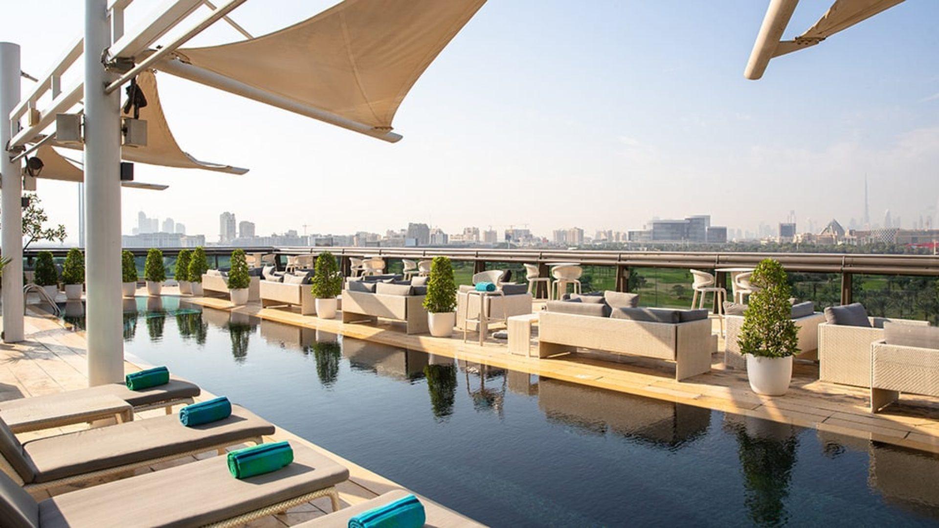 Rooftop Pool at Jumeirah Creekside