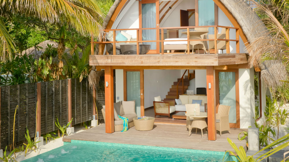 Duplex Pool Villa at the Kandolhu Maldives