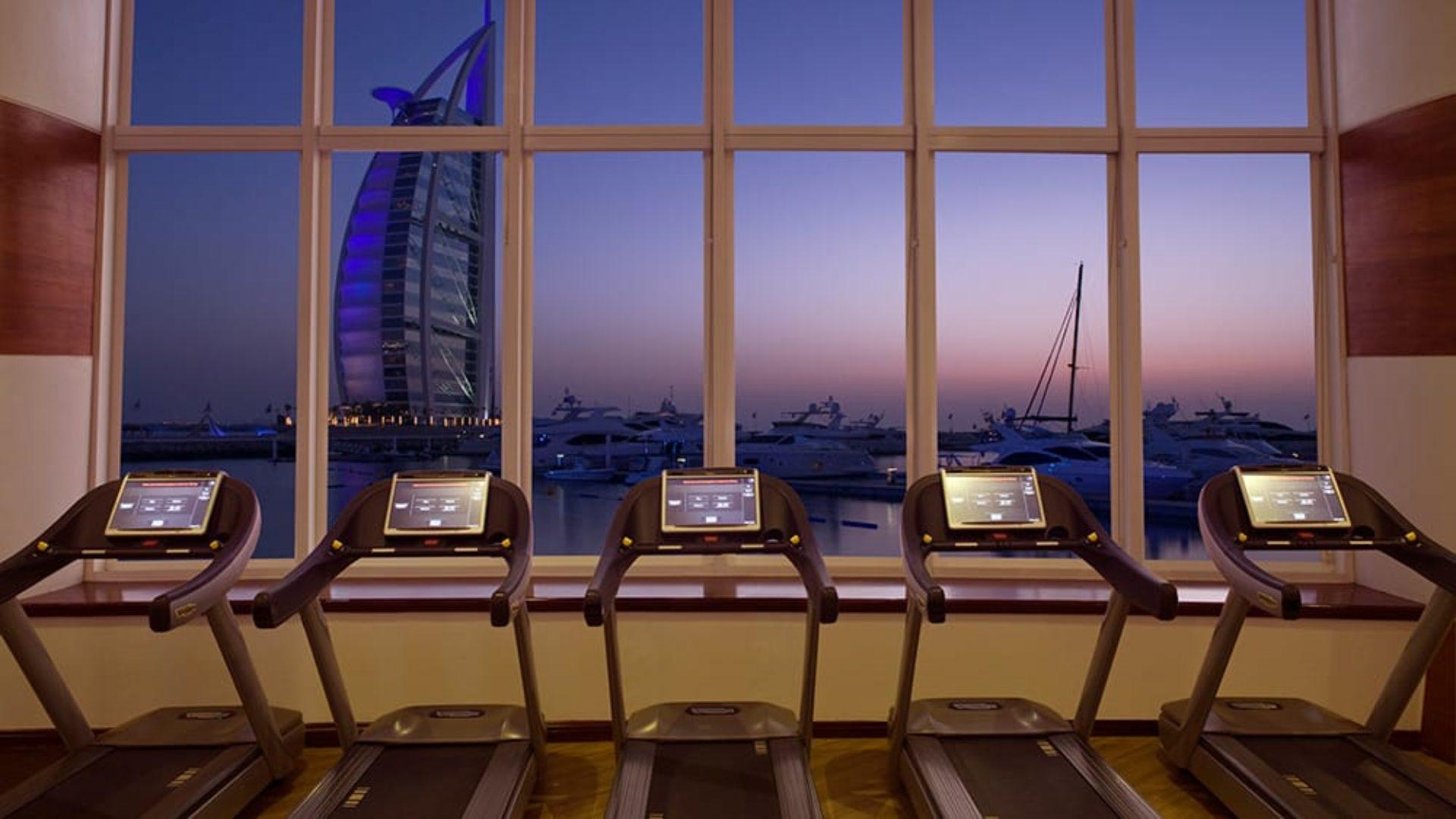 Fitness centre at Jumeirah Beach Hotel