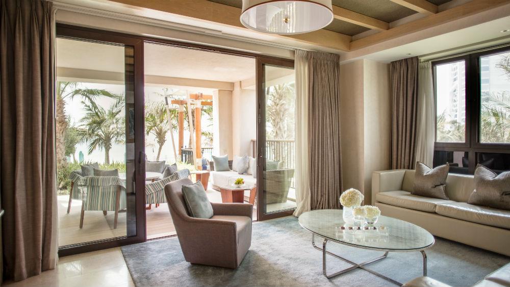 Gulf Ocean Suite at the Jumeirah Al Naseem