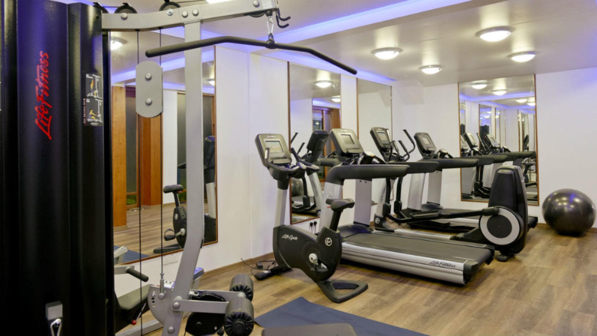 Gym at the Kandolhu Maldives