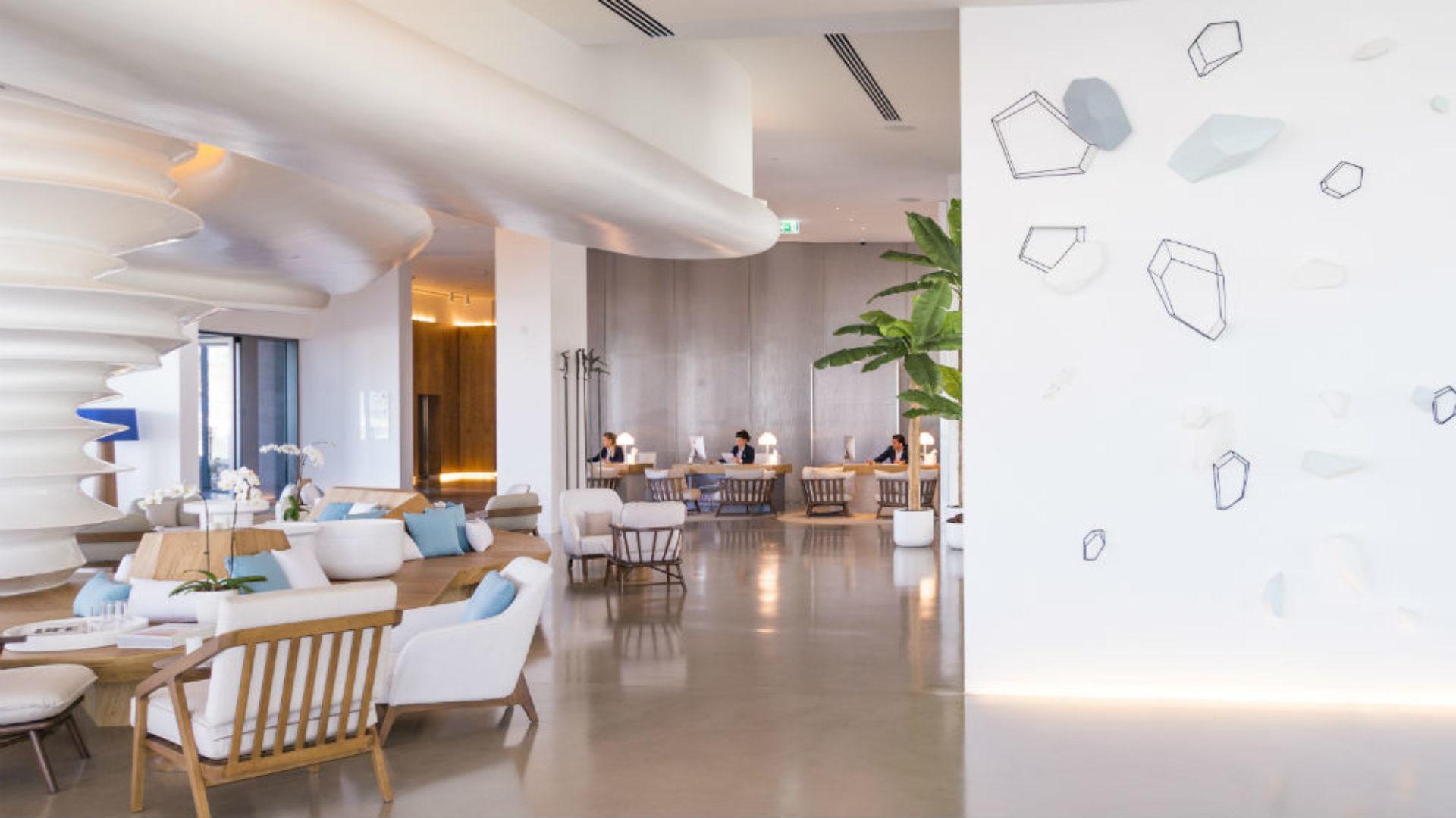 Soul Lounge in the lobby of Nikki Beach Resort & Spa