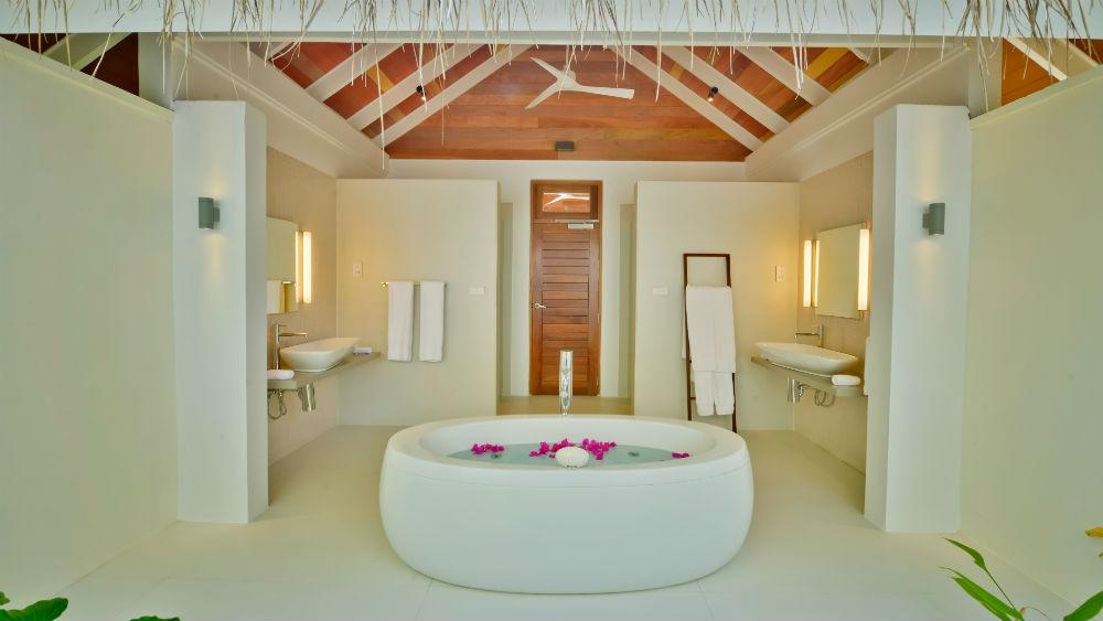 Jacuzzi Beach Villa at the Kandolhu Maldives