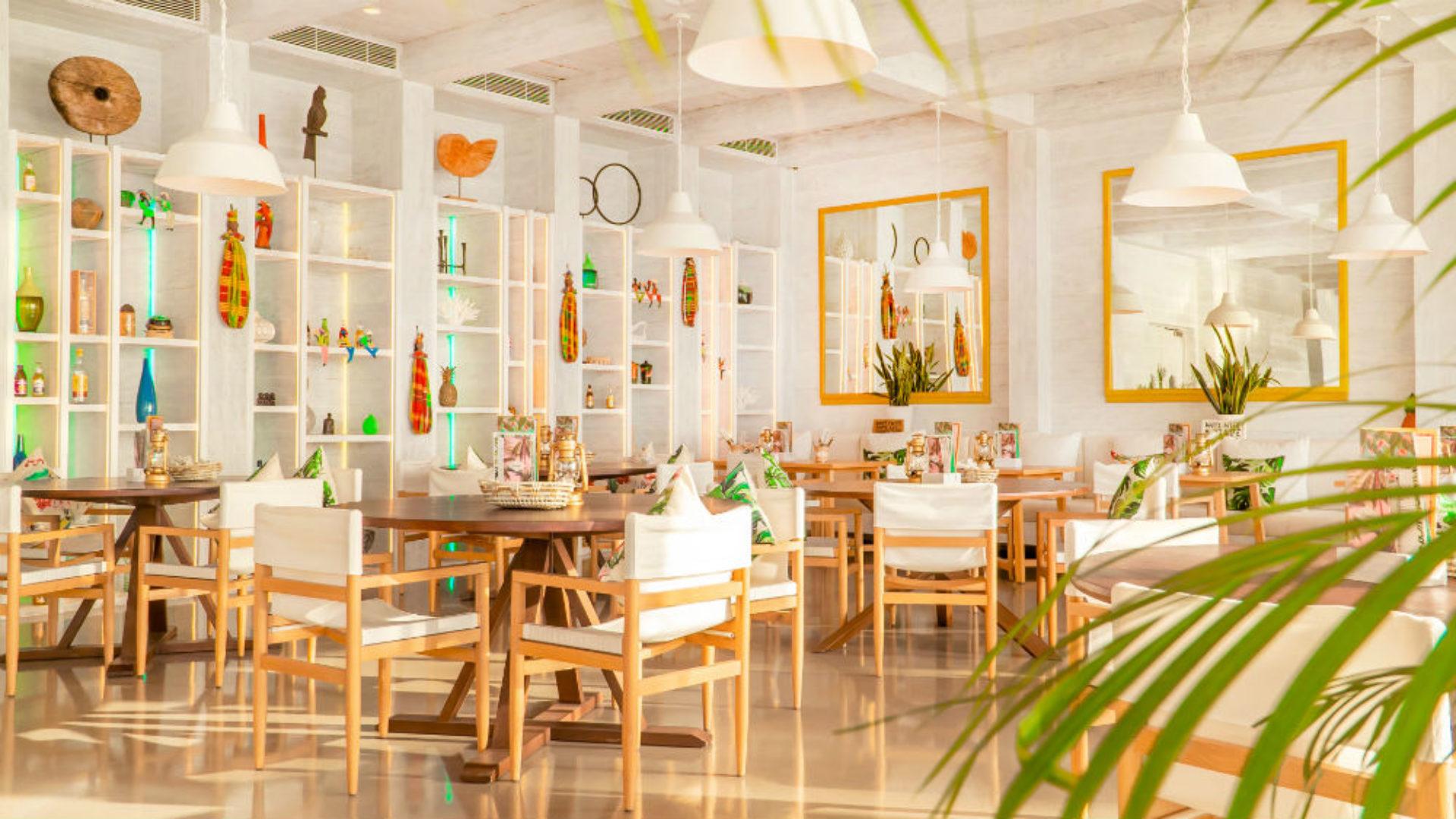 Interior of Key West Bar & Grill at Nikki Beach Resort & Spa