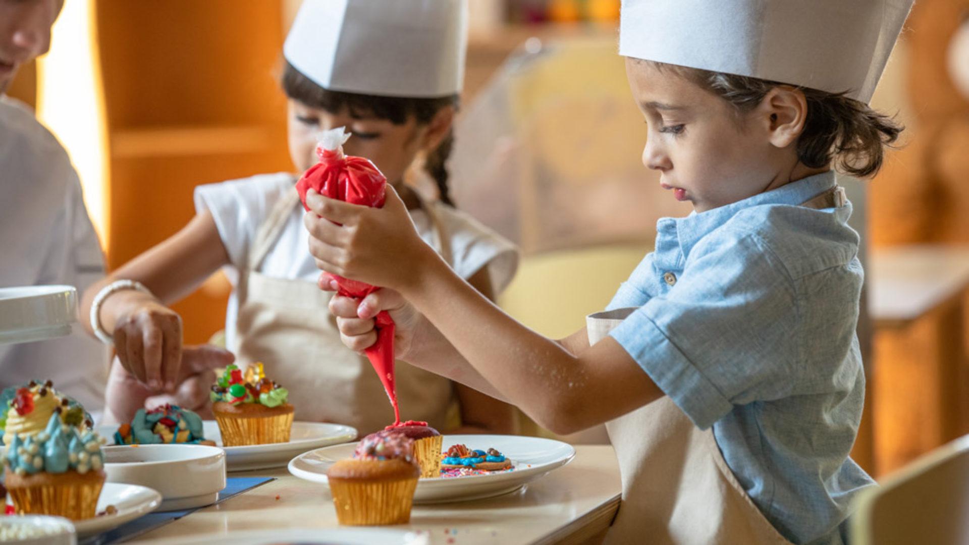Kids Activites Cooking for Kids at the Jumeirah Al Naseem