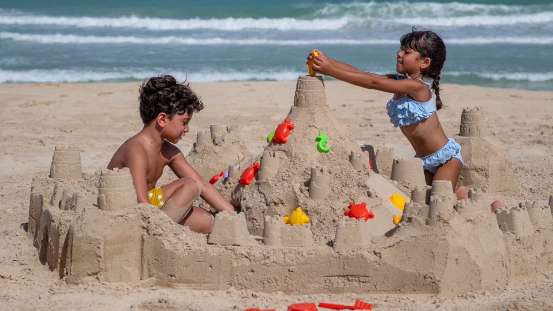 Kids Sand Castle at the Jumeirah Al Naseem