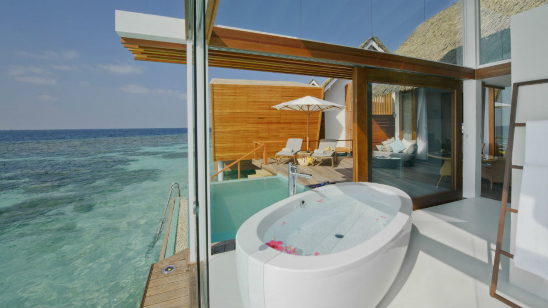 Ocean Pool Villa at the Kandolhu Maldives