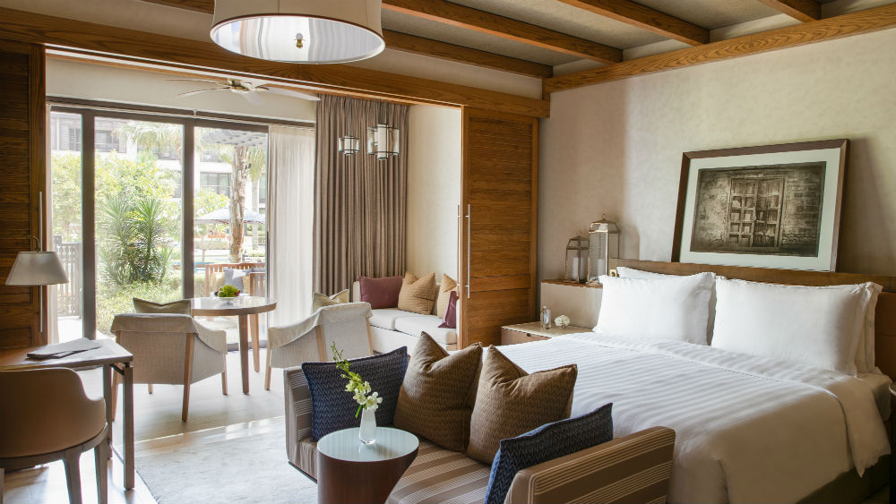 Pool Terrace Room at the Jumeirah Al Naseem