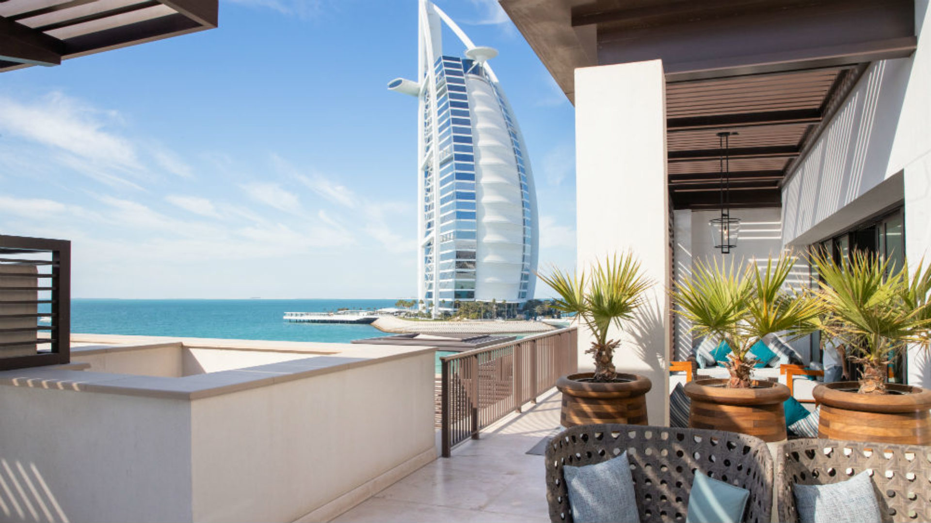 Presidential Suite View at the Jumeirah Al Naseem