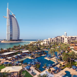 Resort View at the Jumeirah Al Naseem