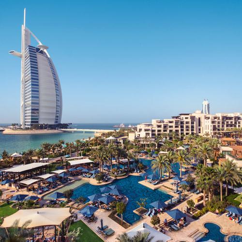 Resort View at the Jumeirah Al Naseem