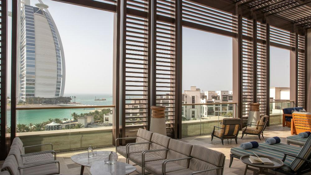 Royal Suite Terrace at the Jumeirah Al Naseem