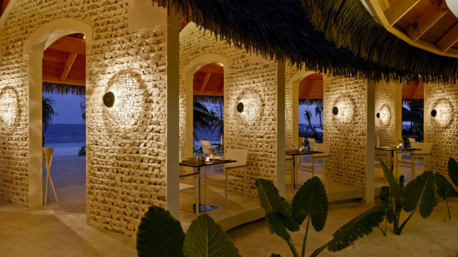 Sea Grill restaurant at the Kandolhu Maldives