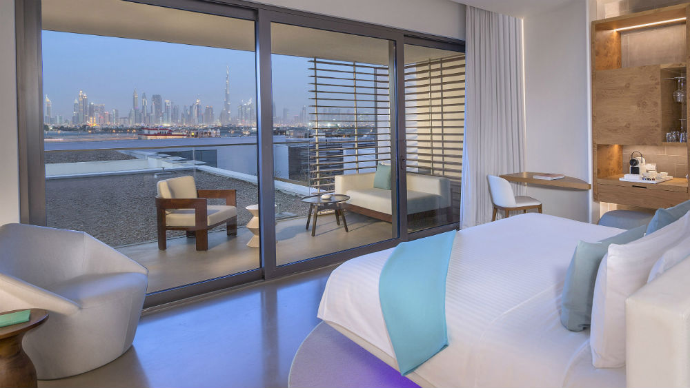 Standard Covet city view at the Nikki Beach Resort & Spa Dubai
