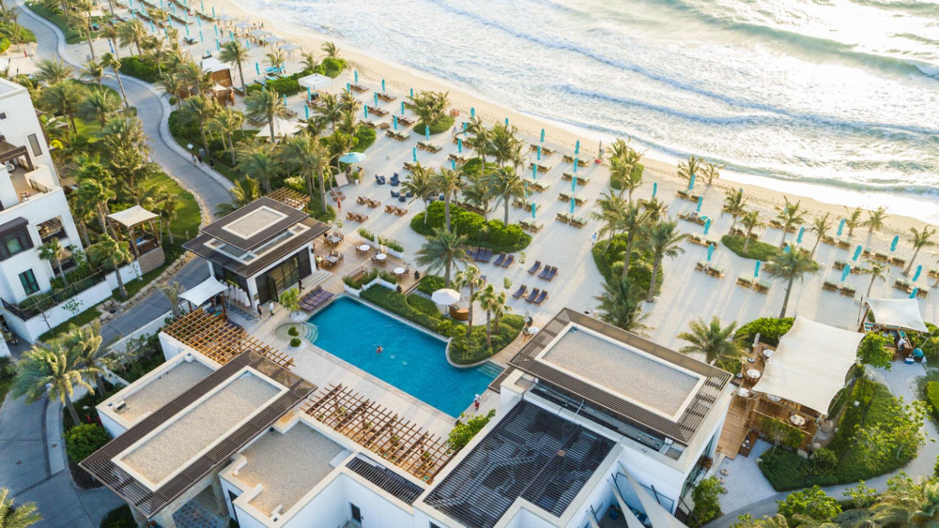 Summersalt-Beach Club Aerial at the Jumeirah Al Naseem