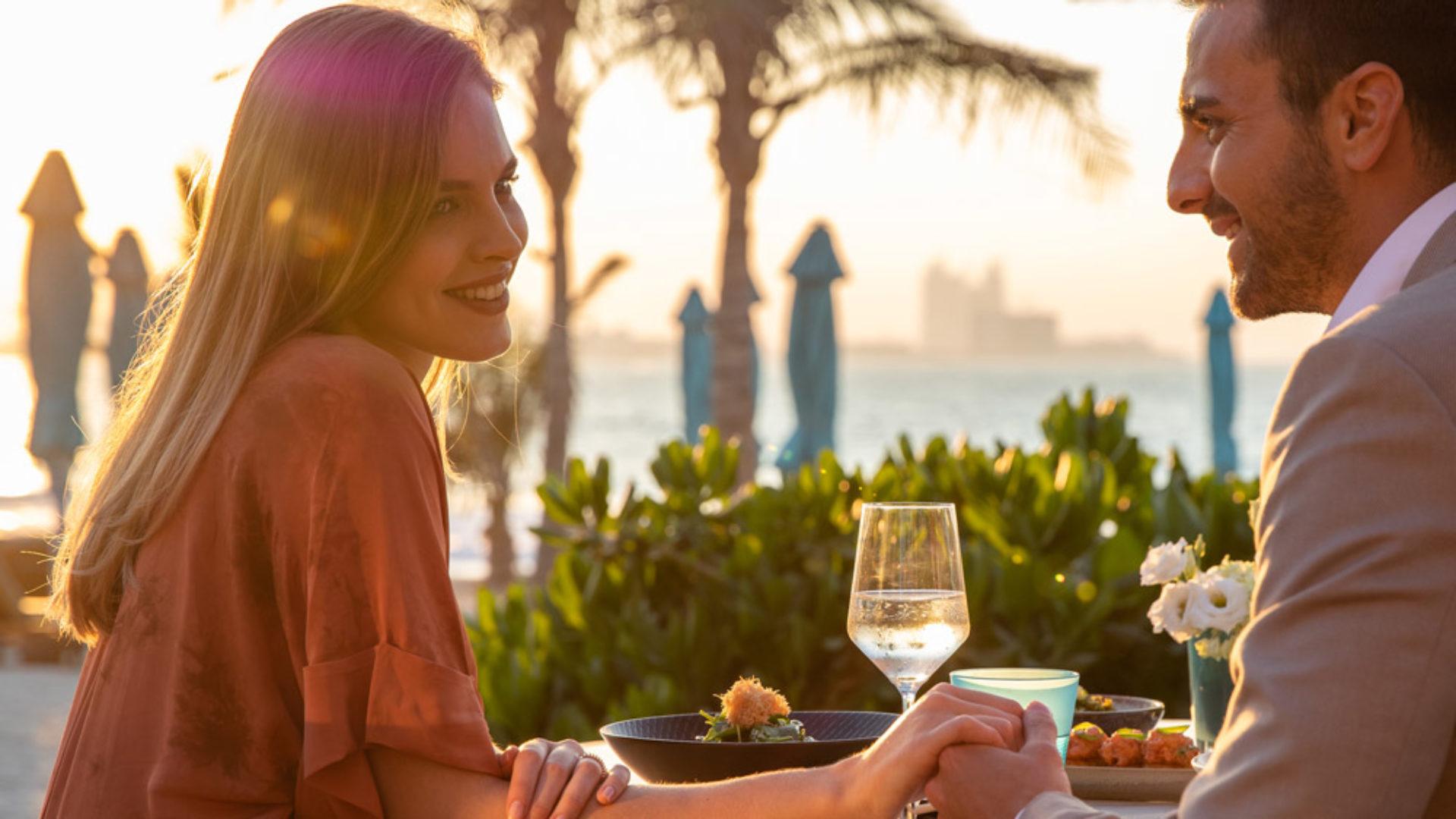 Summersalt Romantic dinner at the Jumeirah Al Naseem