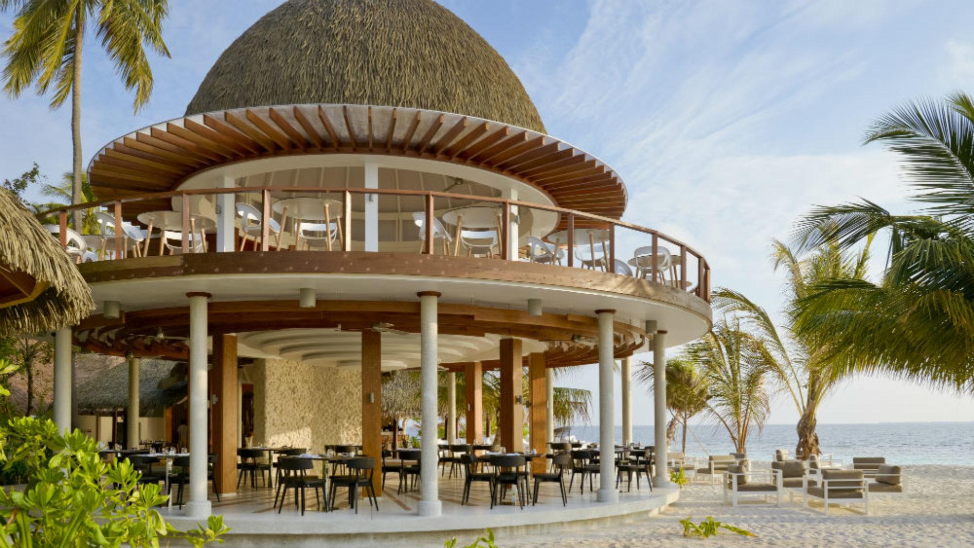 The Market restaurant at the Kandolhu Maldives