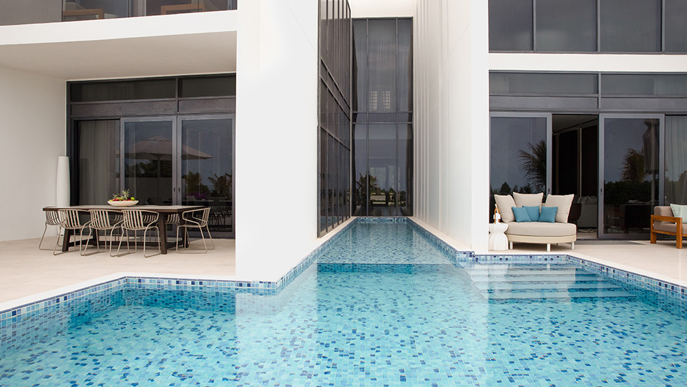 Plunge pool of the Three Bedroom Villa at Jumeirah at Saadiyat Island
