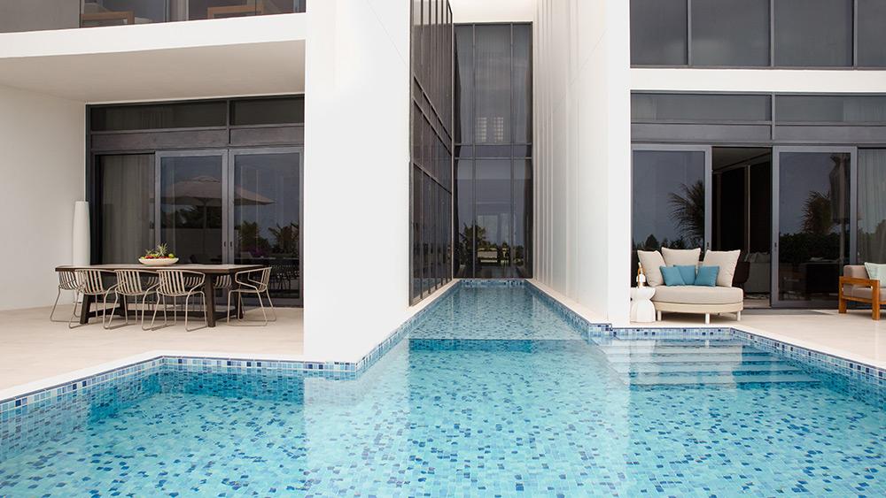 Plunge pool of the Three Bedroom Villa at Jumeirah at Saadiyat Island