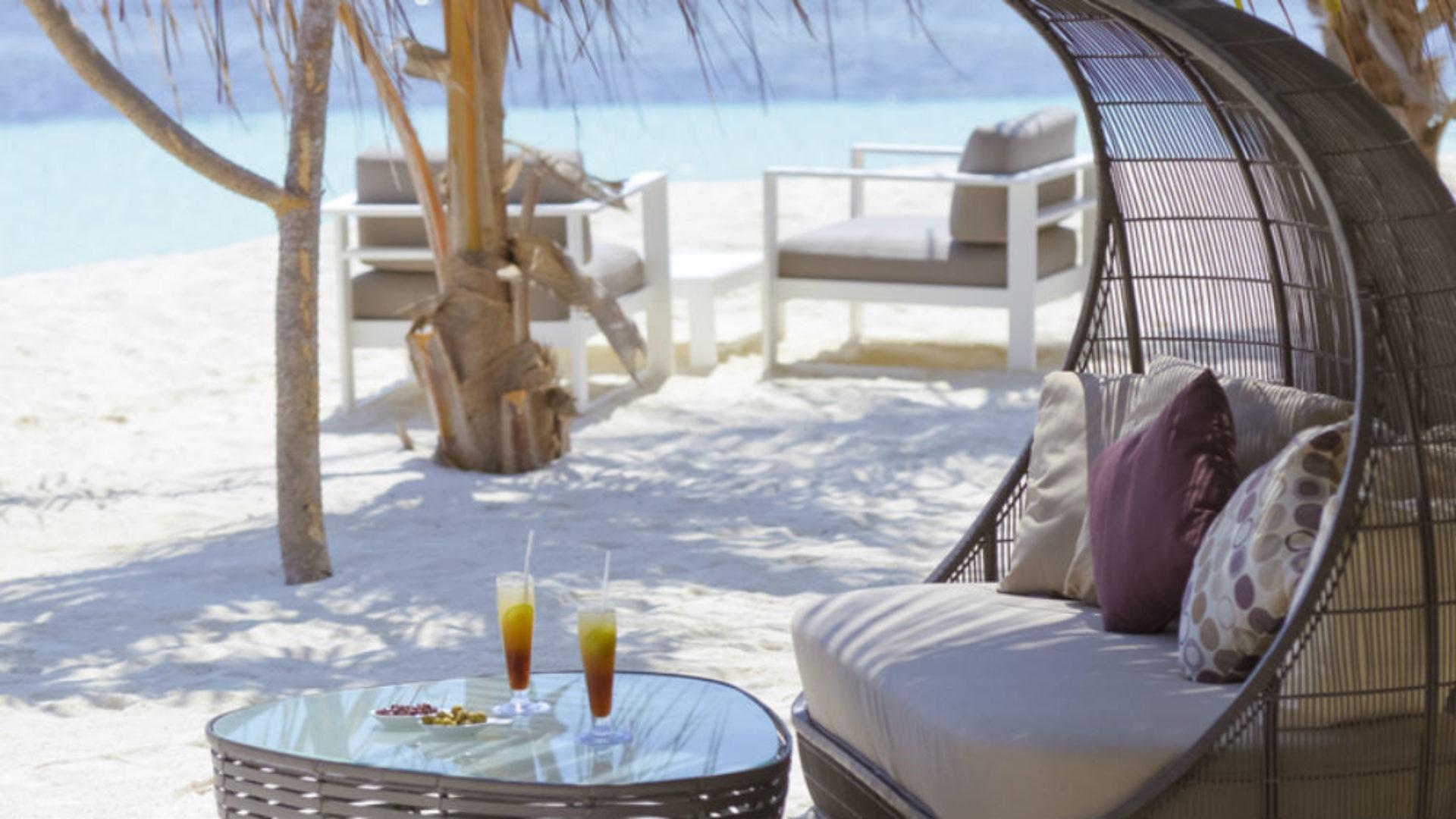 beach club at the Kandolhu Maldives