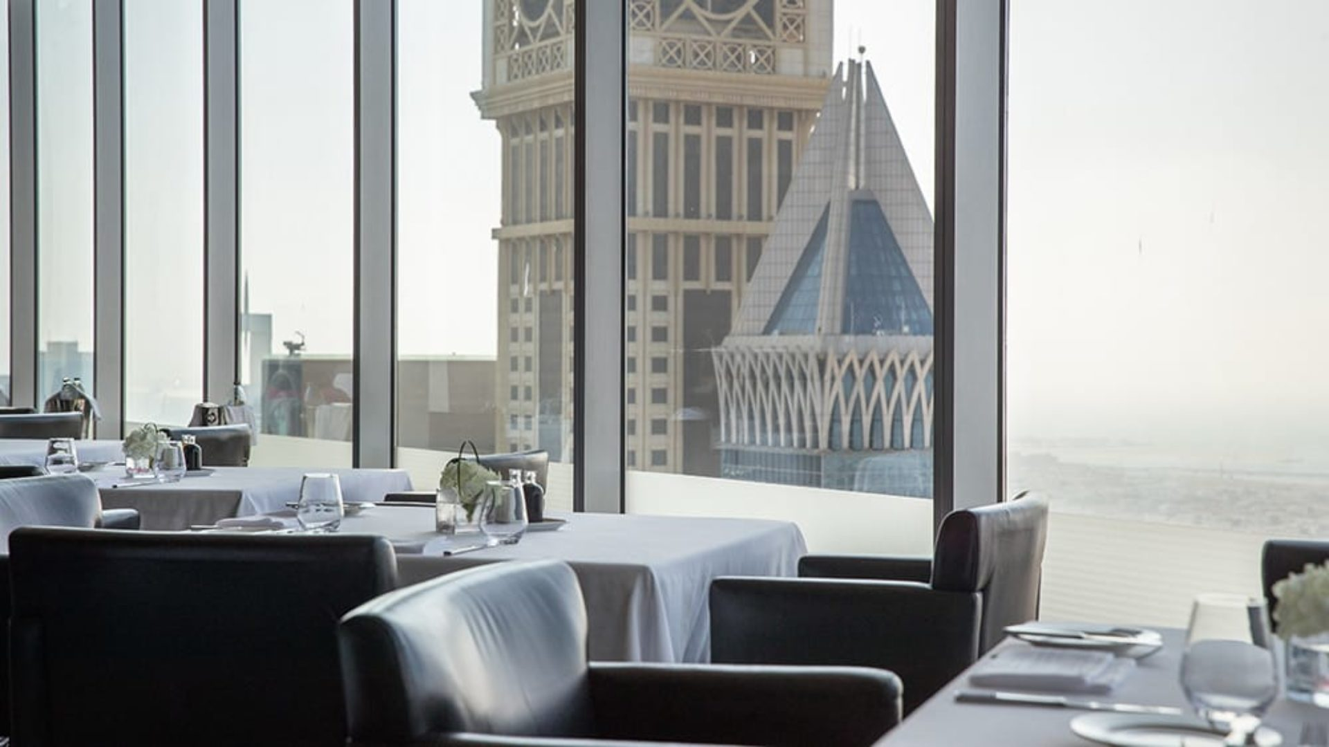 View from Alta Badia Restaurant at Jumeirah Emirates Towers