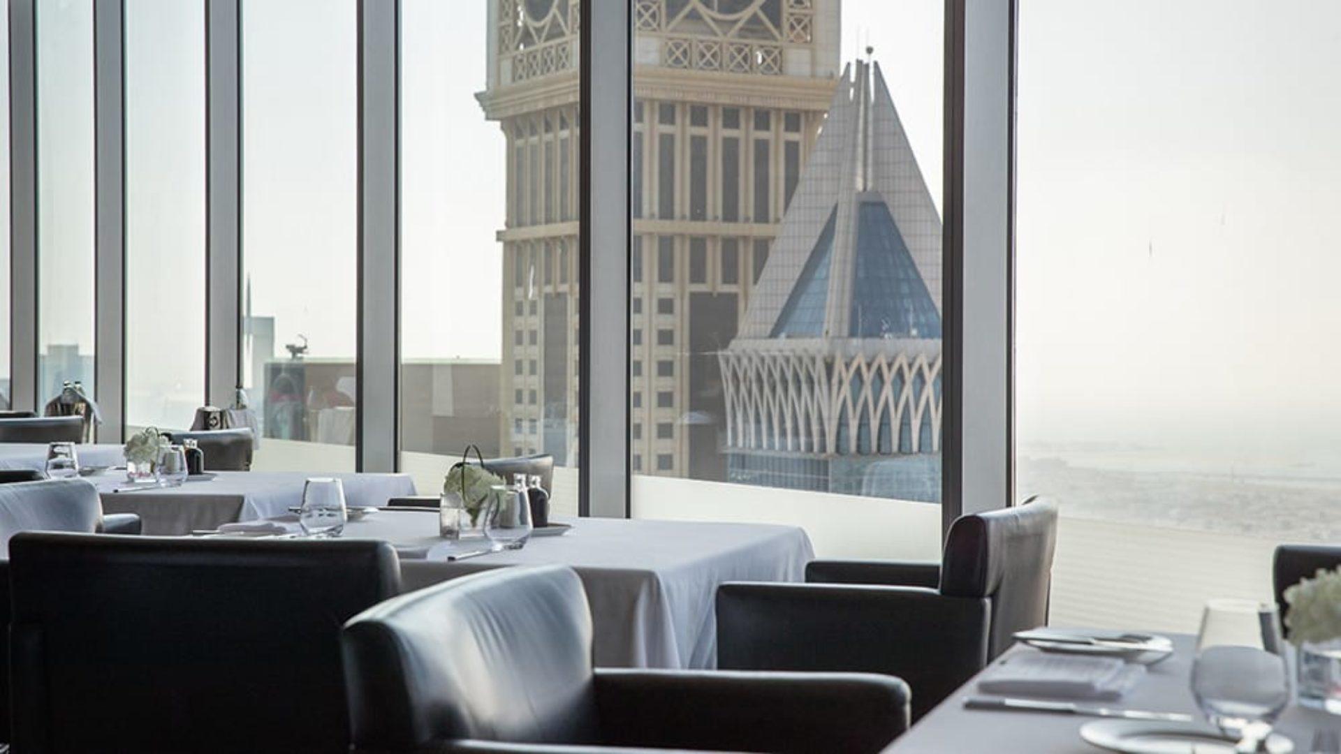 View from Alta Badia Restaurant at Jumeirah Emirates Towers