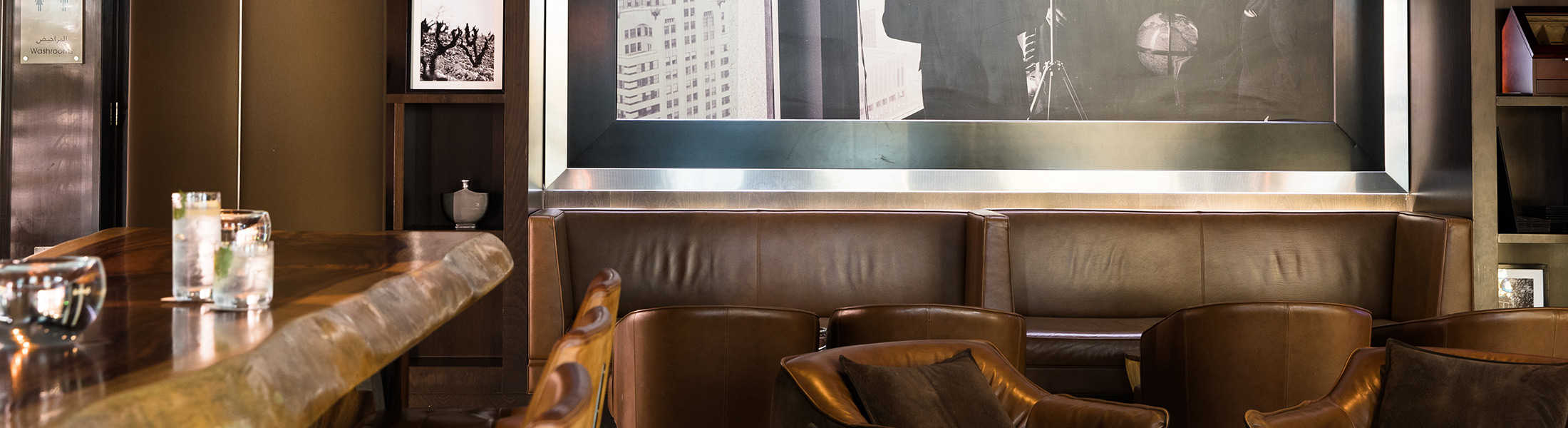 The Rib Room bar at Jumeirah Emirates Towers